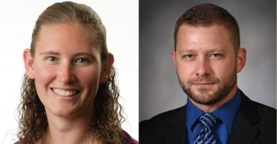 Mercer Health welcomes two new Emergency Department physicians, Dr. Amanda Paden and Dr. Jordan Brunswick.